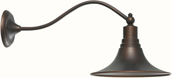 World Imports WI-9097-86 Dark Sky Kingston 1 Light Outdoor Wall Sconce - Antique Copper