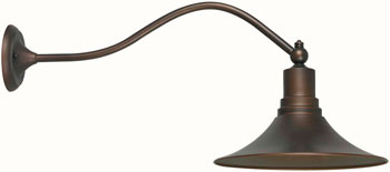 World Imports WI-9099-86 Dark Sky Kingston 1 Light Outdoor Wall Sconce - Antique Copper