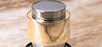 Jacuzzi� X523-829 Band Style Handle - Bright Brass (Pictured in Brass on Chrome)