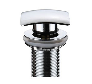 Xylem UM101CP Umbrella Pop Up Drain With Overflow - Chrome
