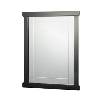 Foremost ZEEM2431 Zen 31 in. x 23-1/2 in. Wall Mirror - Espresso