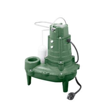 Zoeller M267 Automatic Cast Iron Series Submersible Pump (sump pump) with 10' Cord