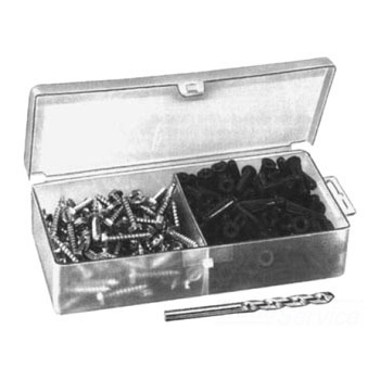 Pasco 1600 Masonry Anchor Kit