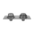 Zurn Z164 6nh 12in Dia Combination Roof And Overflow Drain
