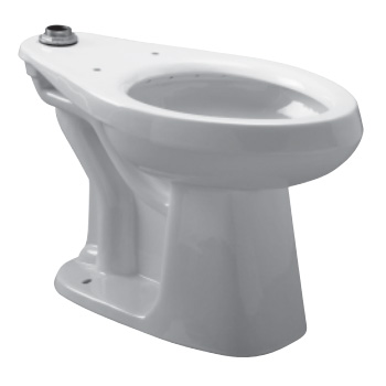 Zurn Z5660 Elongated Floor Mounted Flush Valve Toilet