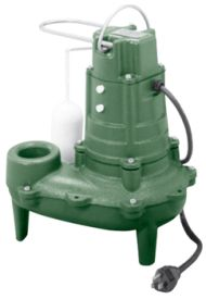 Zoeller 267-0002 Non-Automatic Waste-Mate 1/2 HP Sewage Pump