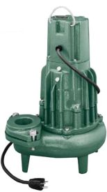 Zoeller 282-0002 Non-Automatic Waste-Mate 1/2 HP Single Seal Pump