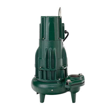 Zoeller 282-0002 N282 Waste-Mate 1/2 HP Single Seal Pump, Non-Automatic