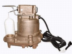 Zoeller 59-0002 Non-Automatic N59 Mighty Mate Bronze Body, Bronze Base Sump Pump 1/3 HP