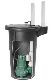 Zoeller 912-0020 Job Ready Simplex Sewage Package System