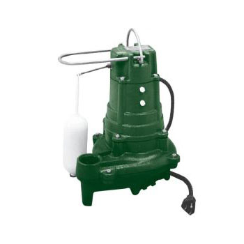 Zoeller M137 Automatic Cast Iron Sump Pump 1/2 HP