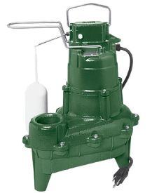 Zoeller M264 Automatic Waste-Mate 0.4 HP Sewage Pump