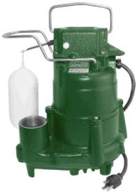 Zoeller M53-25 Automatic Sump Pump 43 GPM 3/10 HP, 25' Cord
