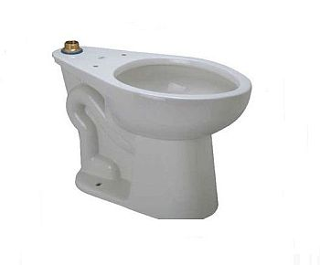 Zurn Z5655 Bwl Toilet Bowl Only 1 28 Gpf Floor Mounted
