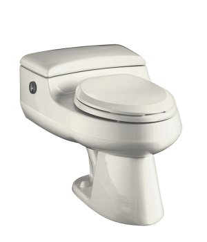 Kohler K-3393-96 San Raphael Comfort Height Elongated One-Piece Toilet with Power Lite Flushing Technology - Biscuit