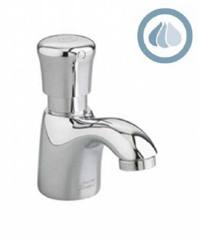 American Standard 1340.105.002 Piller Tap Faucet - Polished Chrome