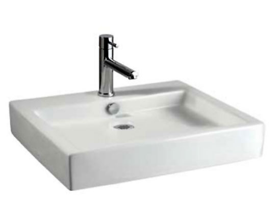 American Standard 0621.001.020 Studio Above Counter Rectangular Vessel Sink    White