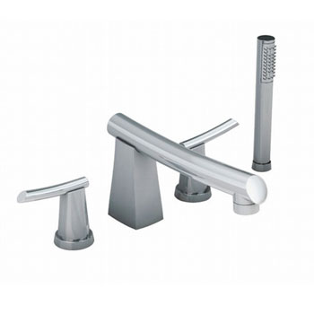 American Standard 7010.901.002 Green Tea Deck-Mount Tub Filler - Chrome