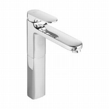 American Standard 2506.152.002 Moments Single Control Vessel Faucet with Grid Drain - Polished Chrome