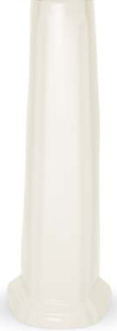 American Standard 731007-400.020 Antiquity Pedestal Base Only - White