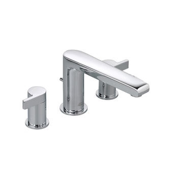 American Standard 2590.900.002 Studio Deck Mounted Tub Filler Less Personal Hand Shower - Chrome