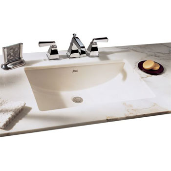 American Standard 9205.130.250 Studio Marble Vanity Top for Undermount Sink - Cream