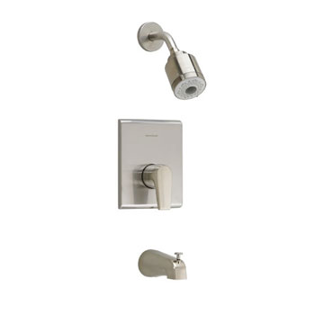 American Standard T590.508.295 Studio FloWise Bath/Shower Trim Kit - Satin Nickel