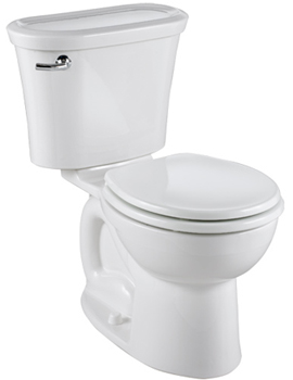 American Standard 2455.016.020 Tropic Cadet 3 Round Front Toilet White
