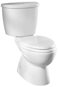 American Standard 2480.216.020 FloWise Dual Flush Right Height Elongated Toilet White