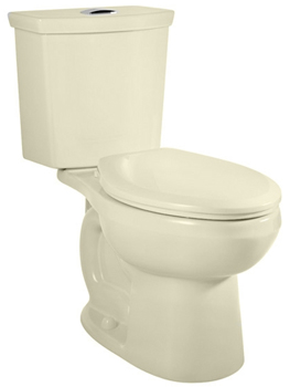 American Standard 2887.216.021 H2Option Siphonic Dual Flush Elongated Toilet Bone
