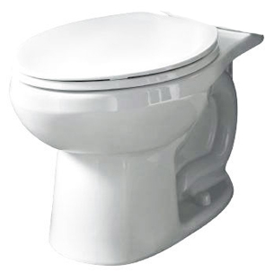 American Standard 3061.001.020 Evolution 2 Right-Height Round Toilet Bowl Only - White