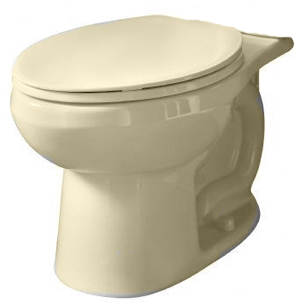 American Standard 3061.001.021 Evolution 2 Right-Height Round Toilet Bowl Only - Bone