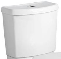 American Standard 4000.204.020 Studio Dual Flush Toilet Tank Only - White