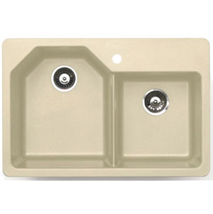Astracast AN20RHUSSK Arion Double Bowl Kitchen Sink - Sahara