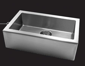 Astracast AP10LXUSUM Apron Undermount Single Bowl Kitchen Sink - Stainless Steel