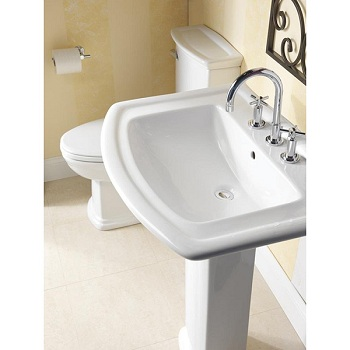 Barclay B3-394WH Washington 550 Basin White
