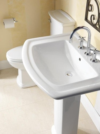 Barclay B3-418 Washington 650 Basin White