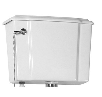 Barclay T/2-412 Victoria Trim Toilet Tank White