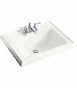 Kohler K-2241-8-7 Memoirs Self-Rimming Lavatory With 8