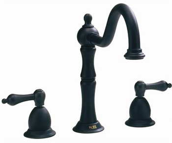 Belle Foret BFN130-01ORB Two Handle Kitchen Faucet Oil Rubbed Bronze