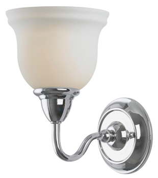 Belle Foret BF-8381-08 1 Light Sconce - Polished Chrome