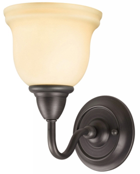 Belle Foret BF-8381-88 Montpellier 1 Light Sconce - Oil Rubbed Bronze