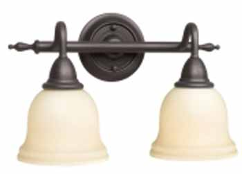 Belle Foret BF-8382-88 Montpellier 2 Light Sconce - Oil Rubbed Bronze