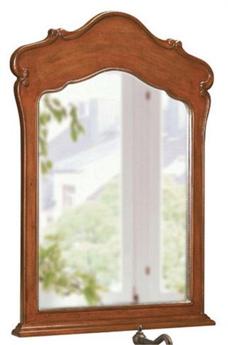 Belle Foret BF80004 Portrait Single Mirror Cherry