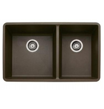 Blanco 441129 Precis 1-3/4 16 in Undermount Kitchen Sink - Cafe Brown