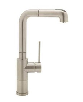 Blanco 440516 BlancoAcclaim Kitchen  Faucet With Single Handle Pullout Spray - Stainless Satin Nickel