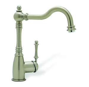 Blanco 440683 BlancoGrace Single Handle Kitchen Faucet - Satin Nickel