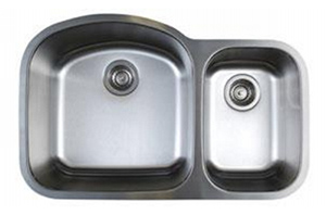 Blanco 441022 Stellar 1.6 Double Basin Undermount Kitchen Sink - Stainless Steel
