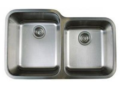 Blanco-441023-1-3-4-Stellar-Dual-Bowl-Kitchen-Sink---Stainless-Steel