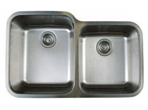 Blanco 441023 1-3/4 Stellar Dual Bowl Kitchen Sink - Stainless Steel